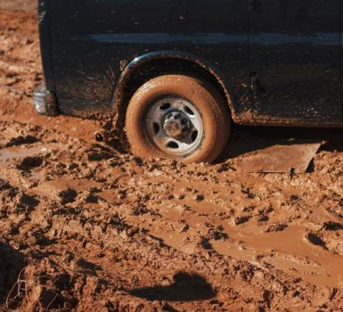 How to Get a Car Unstuck by Yourself