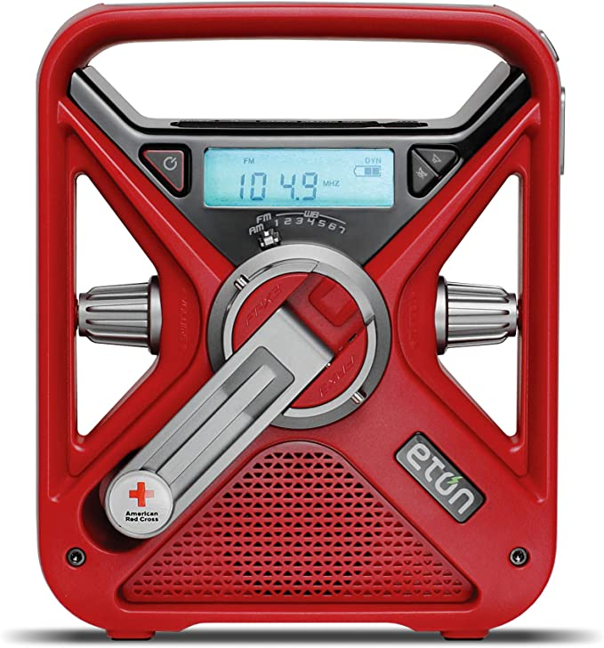 Battery Powered Radios For Emergencies — Eton American Red Cross