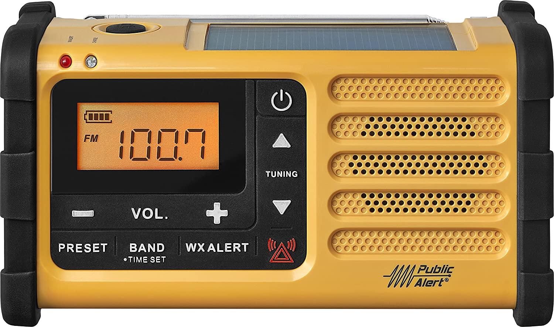 Battery Powered Radios For Emergencies —Sangean MMR-88